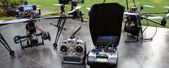 Drones en Videoproductiehuizen
