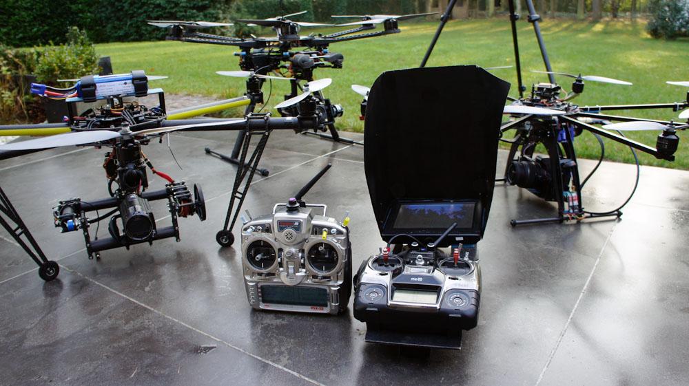 Drones en zenders